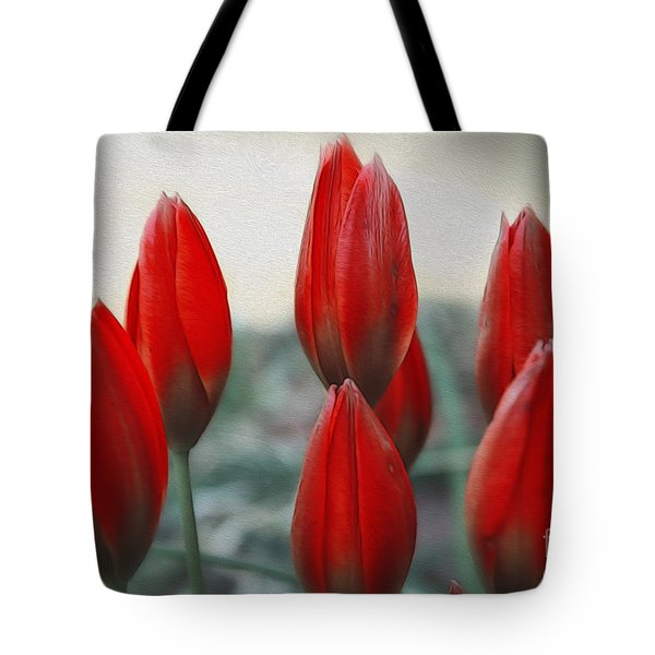 Straight Upwards Tote Bag