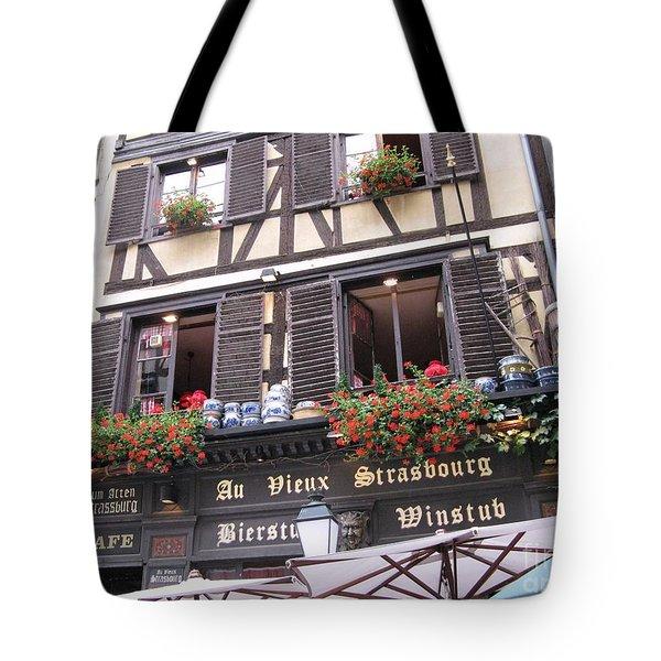 Strasbourg Tote Bag by Arlene Carmel