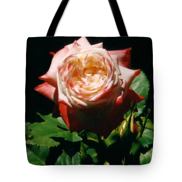 Strawberry Rose Tote Bag