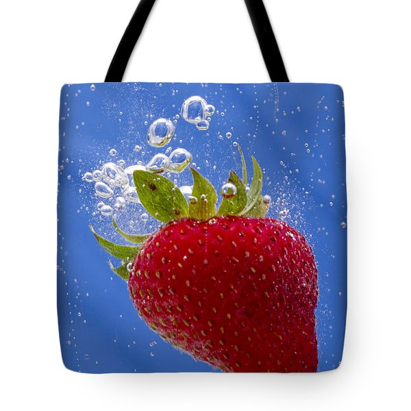 Strawberry Soda Dunk 3 Tote Bag by John Brueske