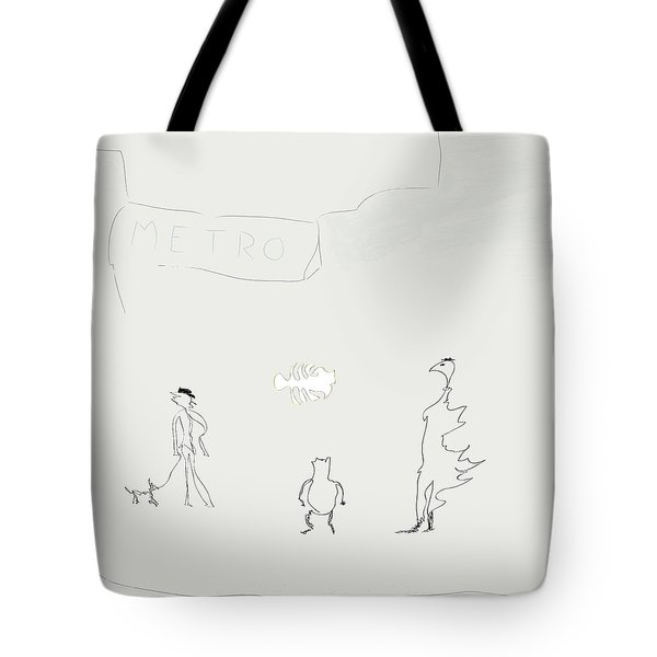Street Apparition Tote Bag