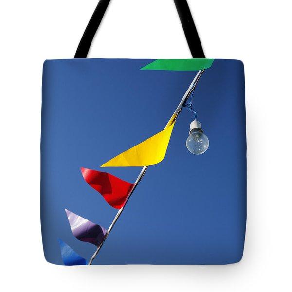 Street Decorations Tote Bag by Gaspar Avila