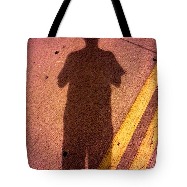 Street Shadows 001 Tote Bag