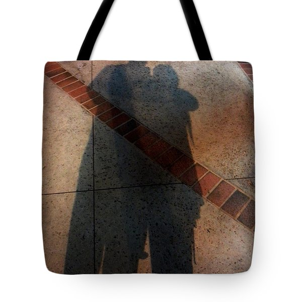 Street Shadows 002 Tote Bag