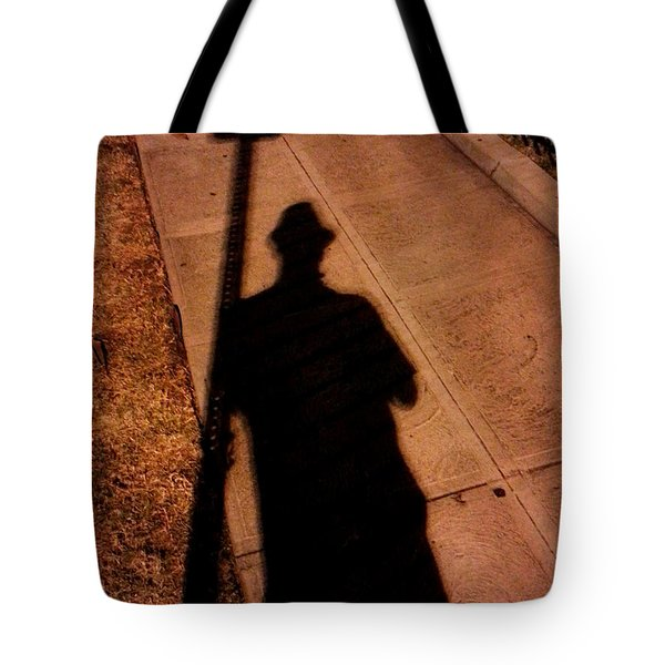 Street Shadows 008 Tote Bag