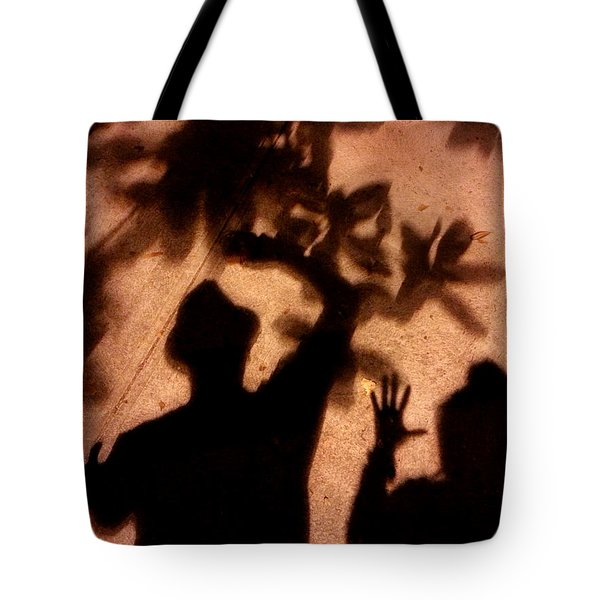 Street Shadows 010 Tote Bag