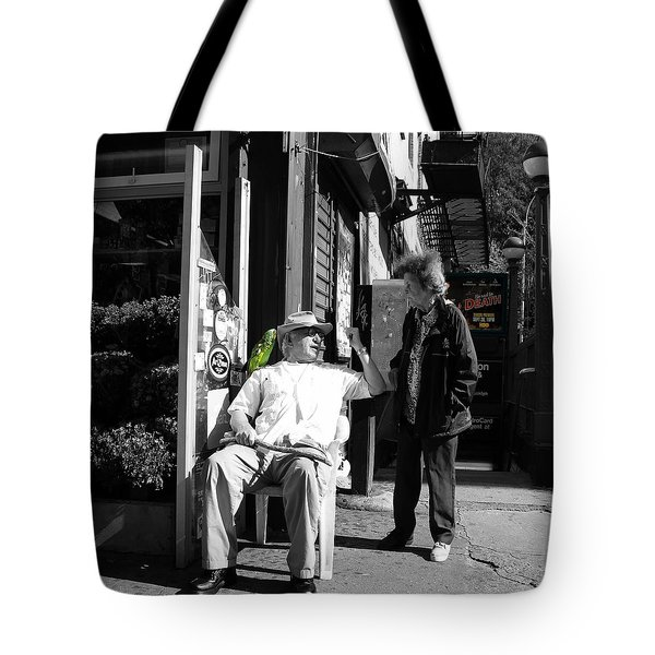 Streets Of New York 8 Tote Bag by Andrew Fare