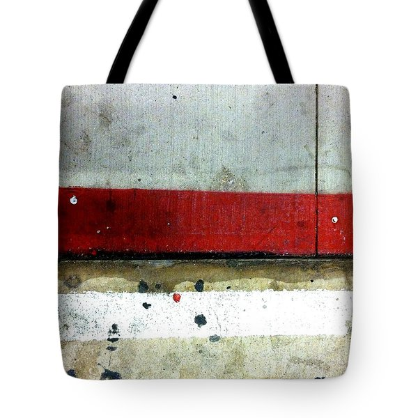 Streets Of New York Abstract Eight Tote Bag by Marlene Burns