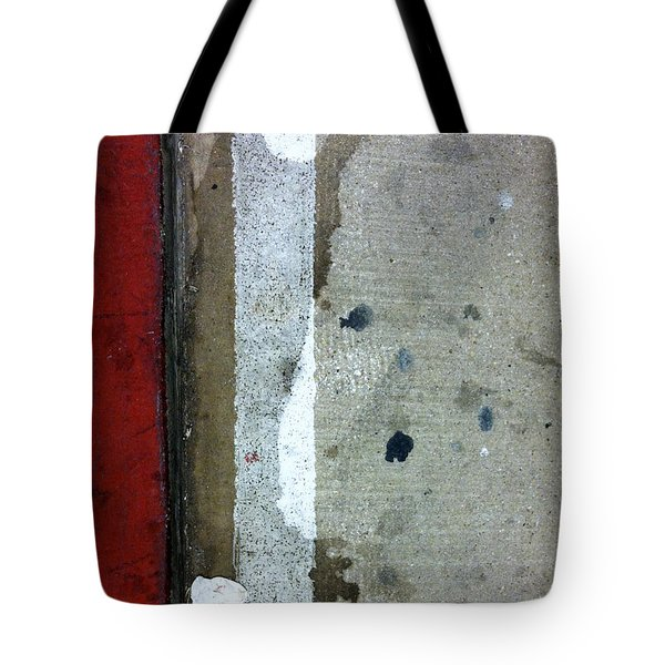 Streets Of New York Abstract Twelve Tote Bag by Marlene Burns