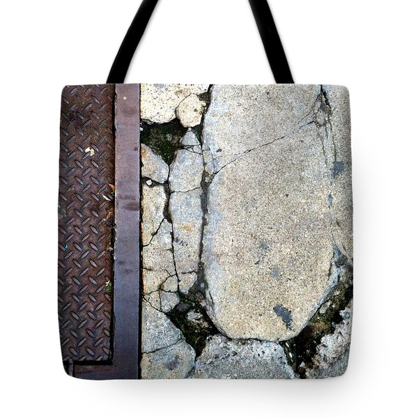 Streets Of New York Abstract Two Tote Bag by Marlene Burns