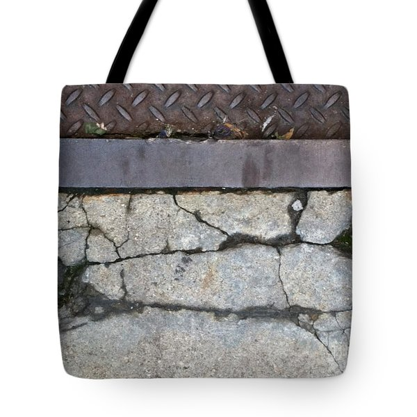 Streets Of Ny Abstract Three Tote Bag by Marlene Burns