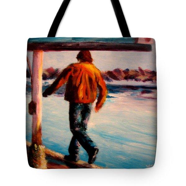Stride Tote Bag