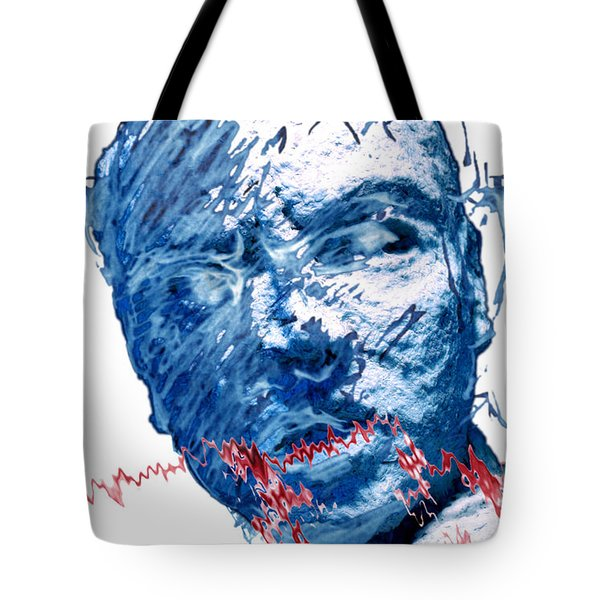 String Theory Again Tote Bag by Adam Long