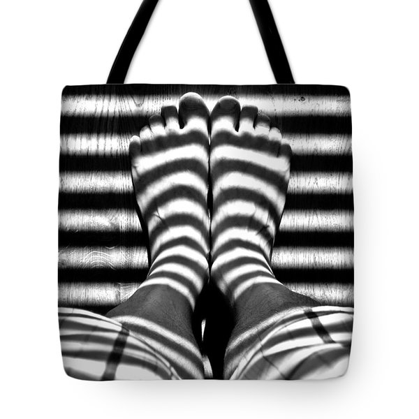 Stripe Socks? Tote Bag