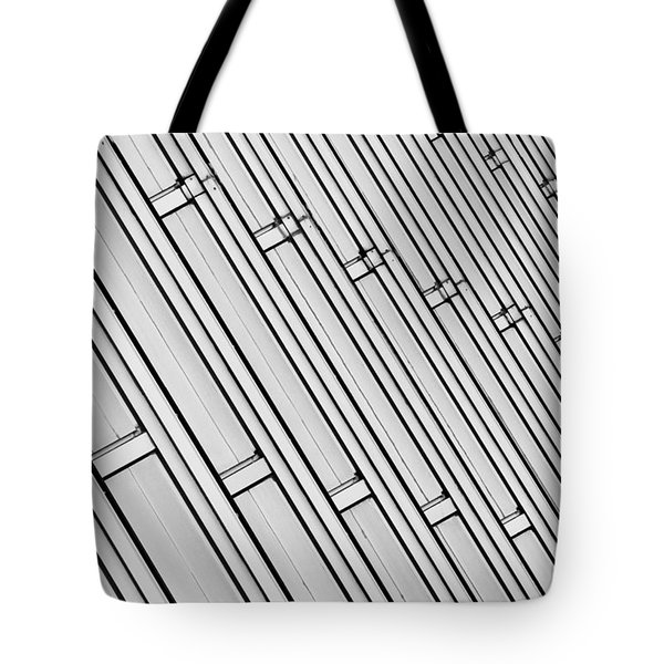 Structural Intrigue Tote Bag