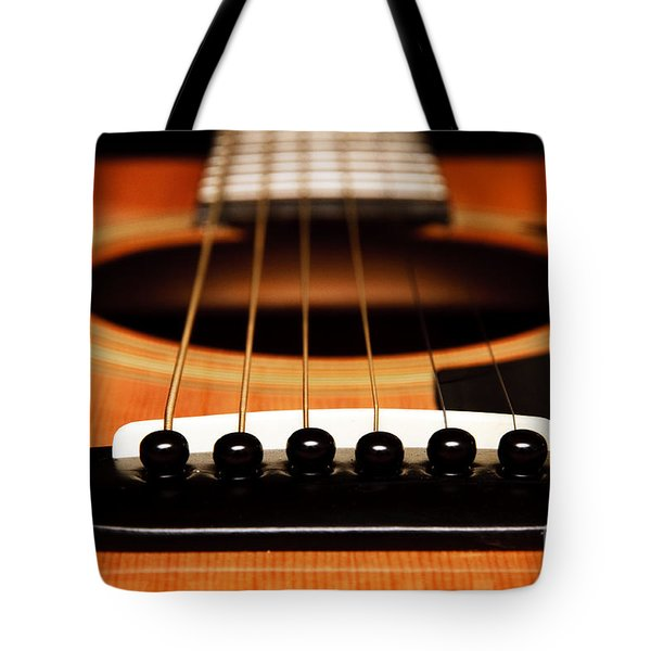 Strum Front Tote Bag by Andee Design