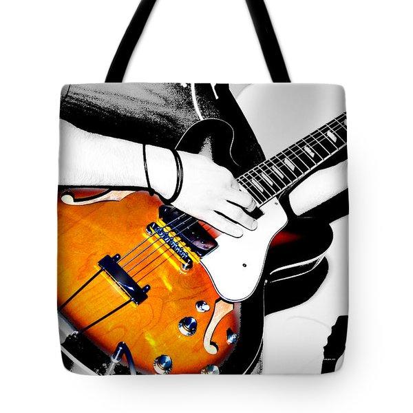 Strummin Dan Tote Bag by Empty Wall