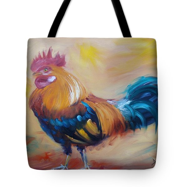 Struttin' My Stuff Tote Bag by Donna Tuten