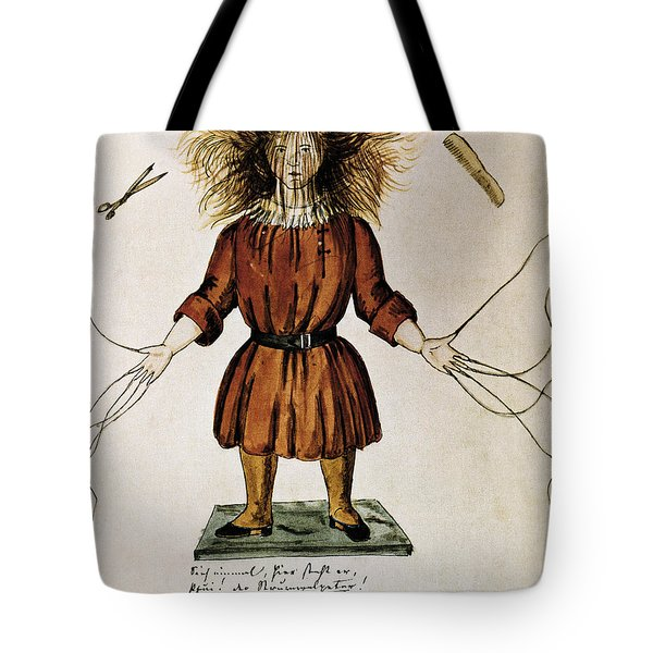 Struwwelpeter Tote Bag by Photo Researchers