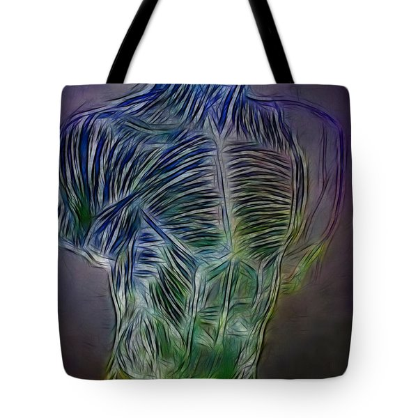 Study For A Man Tote Bag