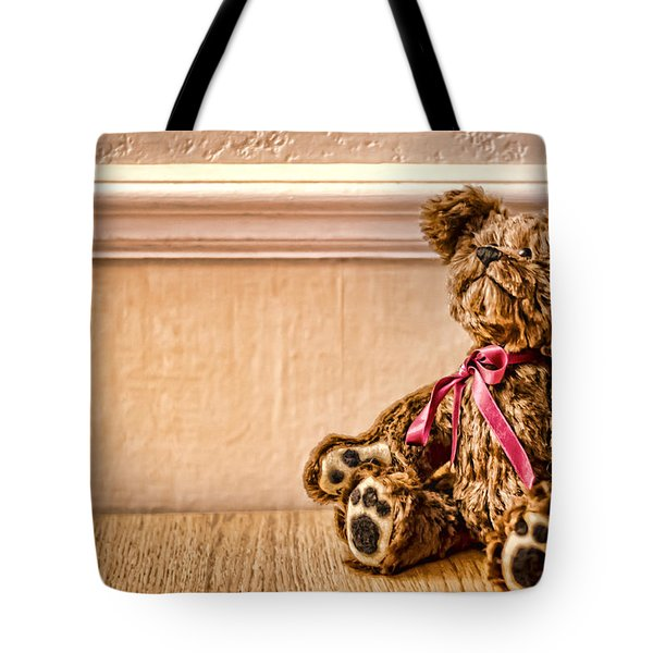 Stuffed Friend Tote Bag by Heather Applegate