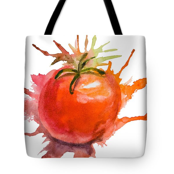 Stylized Illustration Of Tomato Tote Bag