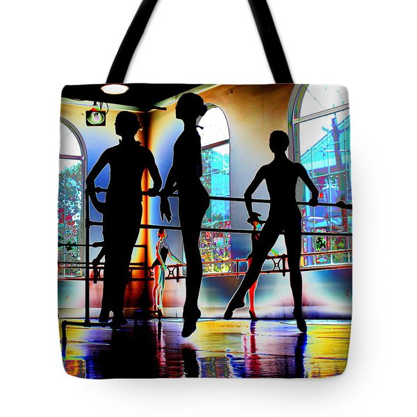 Sublime Silhouettes Tote Bag