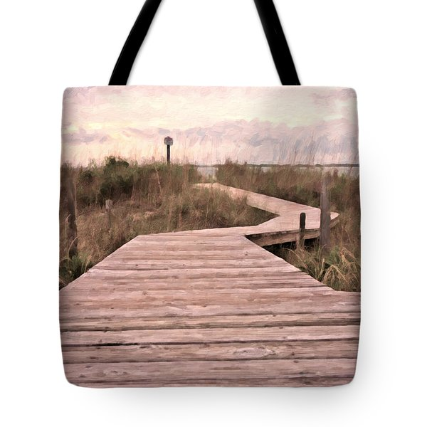 Subtle Bridge Tote Bag