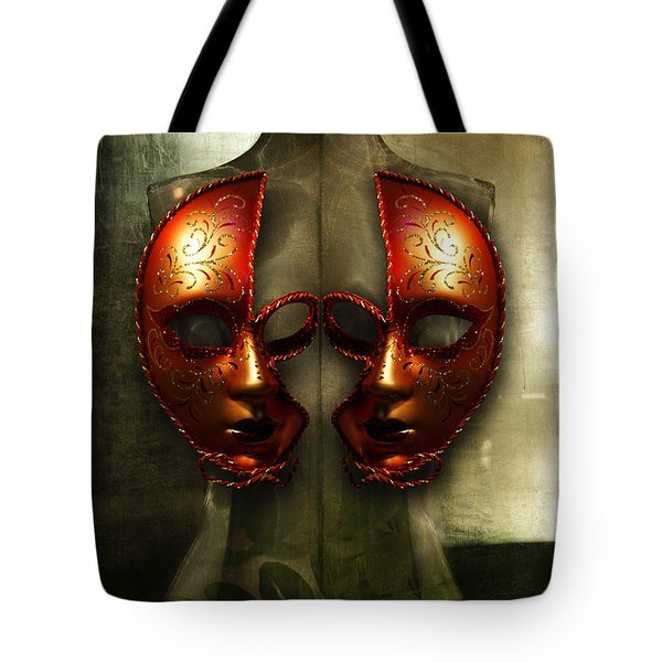 Tote Bag featuring the photograph Suckling The Silence  Viriditas by Rosa Cobos