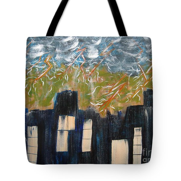 Suddenly Tote Bag