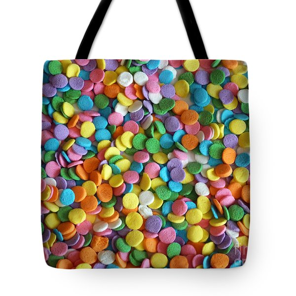 Sugar Confetti Tote Bag by Methune Hively