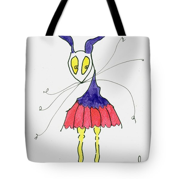 Sugar Plum Fairy Tote Bag by Tis Art