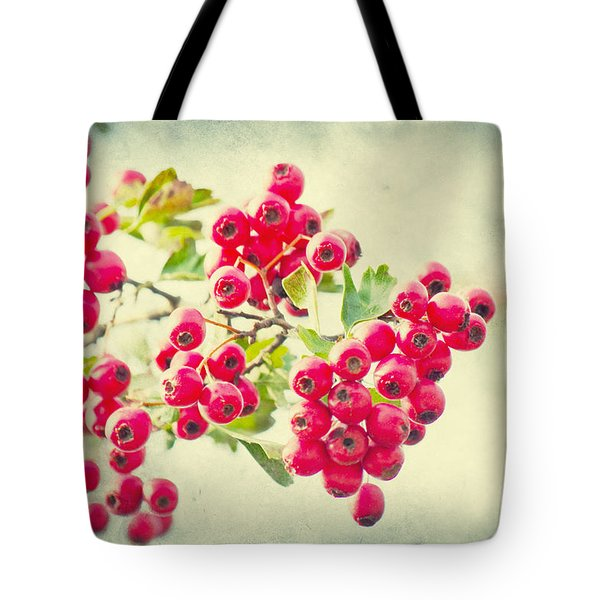 Summer Berries Tote Bag by Angela Doelling AD DESIGN Photo and PhotoArt