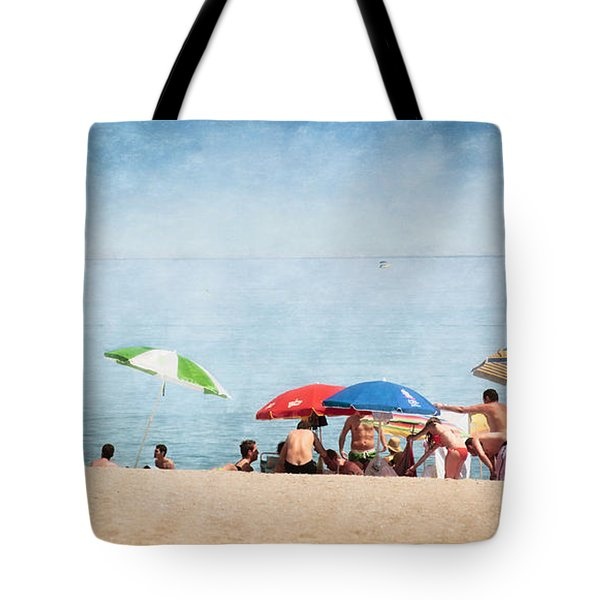 Summer By The Sea Tote Bag by Mary Machare