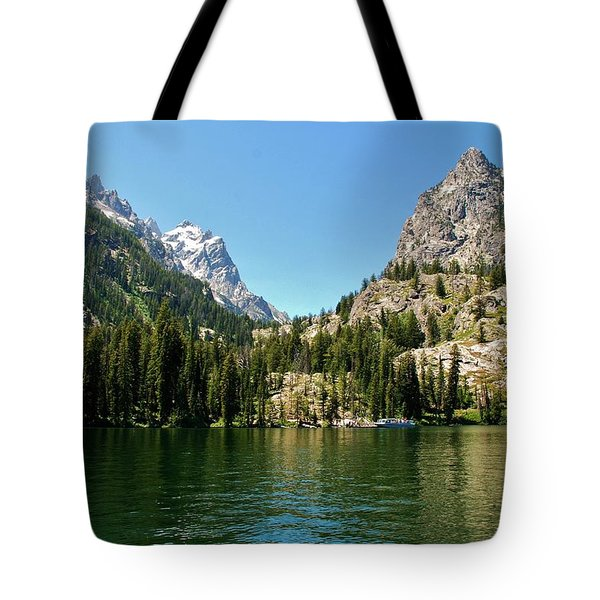 Summer Day At Jenny Lake Tote Bag by Dany Lison