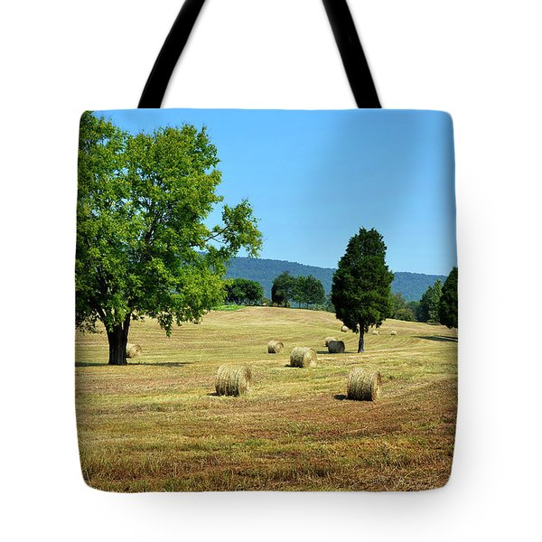 Tote Bag featuring the photograph Summer Field by Paul Mashburn