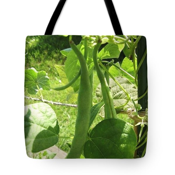 Summer Green Beans Tote Bag