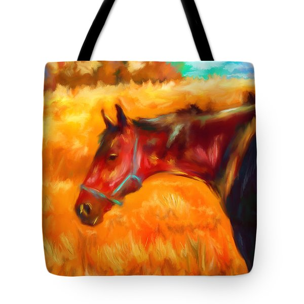 Summer Heat Tote Bag by Michelle Wrighton