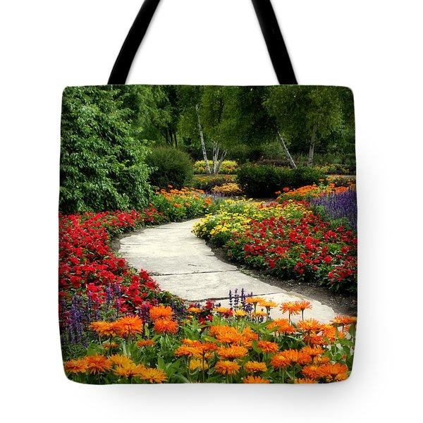 Summer In Cantigny 1 Tote Bag by Ely Arsha