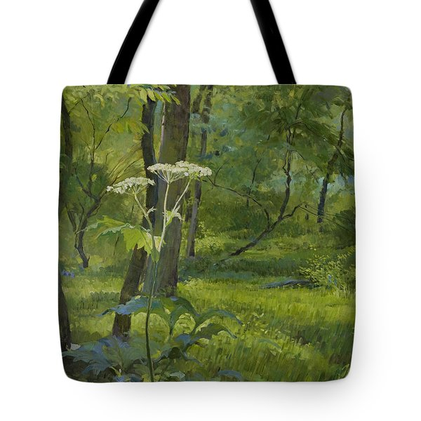 Summer In Fullersburg Woods Tote Bag