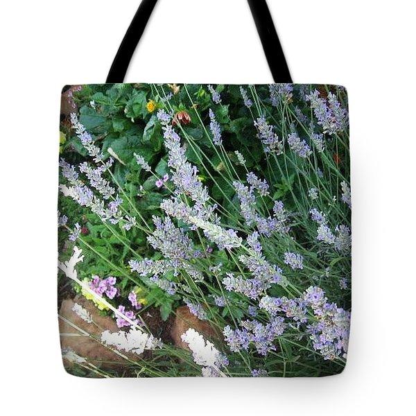 Summer Lavender Tote Bag