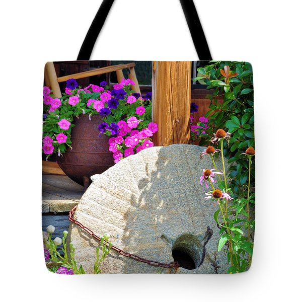 Summer Millstone Tote Bag by Jan Amiss Photography