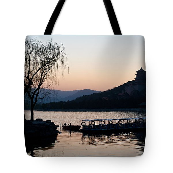 Summer Palace Evening Tote Bag
