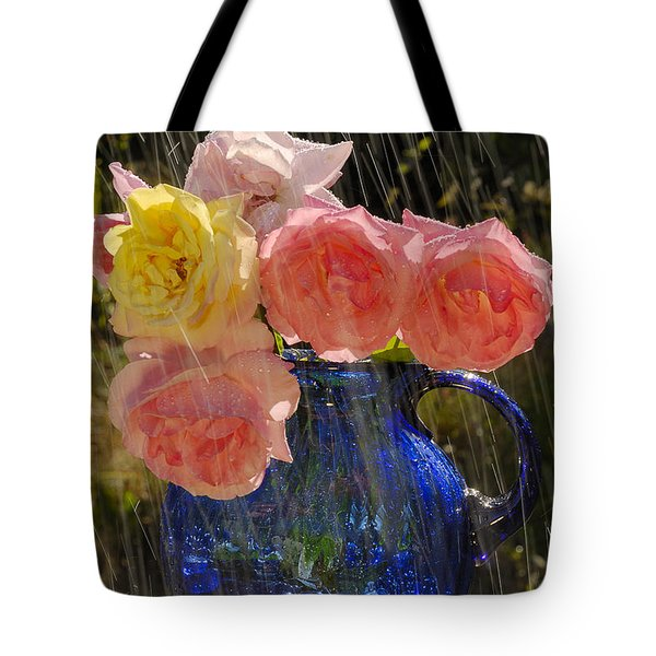 Tote Bag featuring the photograph Summer Rain by Arthur Fix