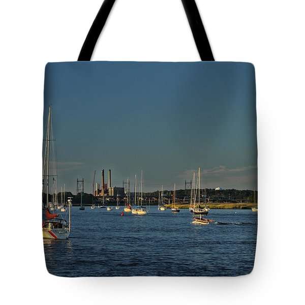 Summers Canal Tote Bag by Karol Livote