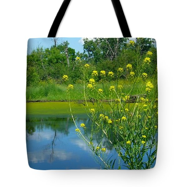 Tote Bag featuring the photograph Summer's Glory by Jim Sauchyn