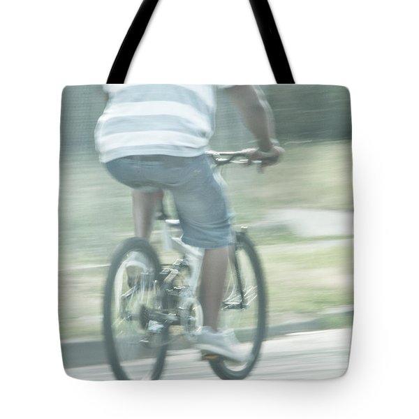 Summers Ride Tote Bag by Karol Livote