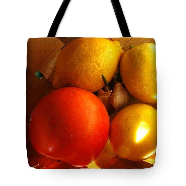 Sun Basket Tote Bag