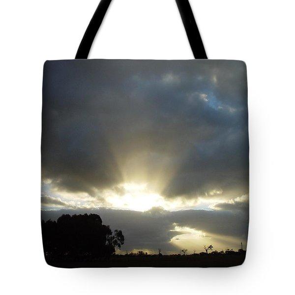 Sun Beams Tote Bag by Paul Van Scott