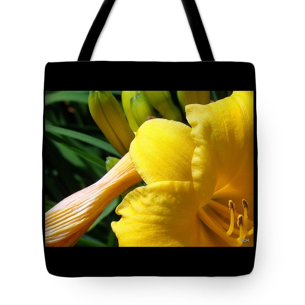 Sun Came Out Tote Bag by Veronica Henson